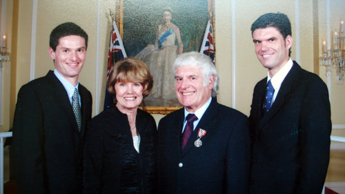 Neil was awarded a Queens Service Medal in the 2005 New Year Honours
